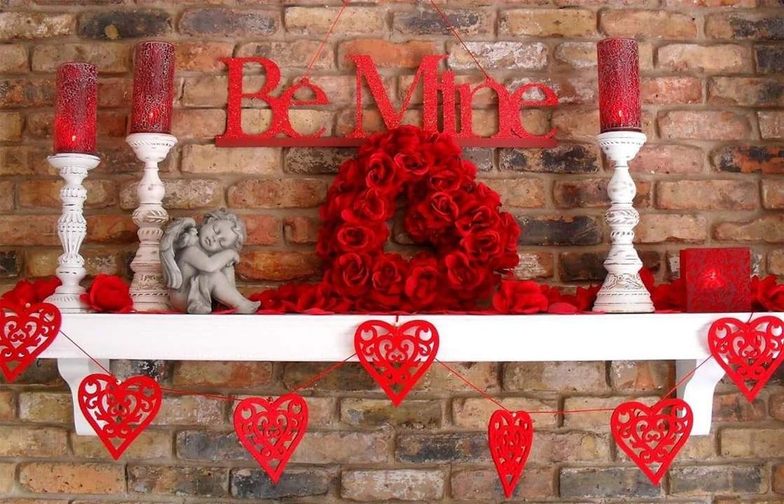 Cool And Cozy Red Valentines Day Decoration Ideas 02