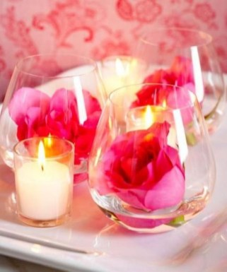 Cute Pink Valentines Day Decoration Ideas For Your Home 39
