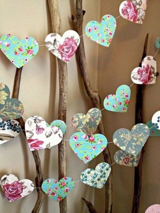 Cute Shabby Chic Valentines Decoration Ideas For Your Home 23