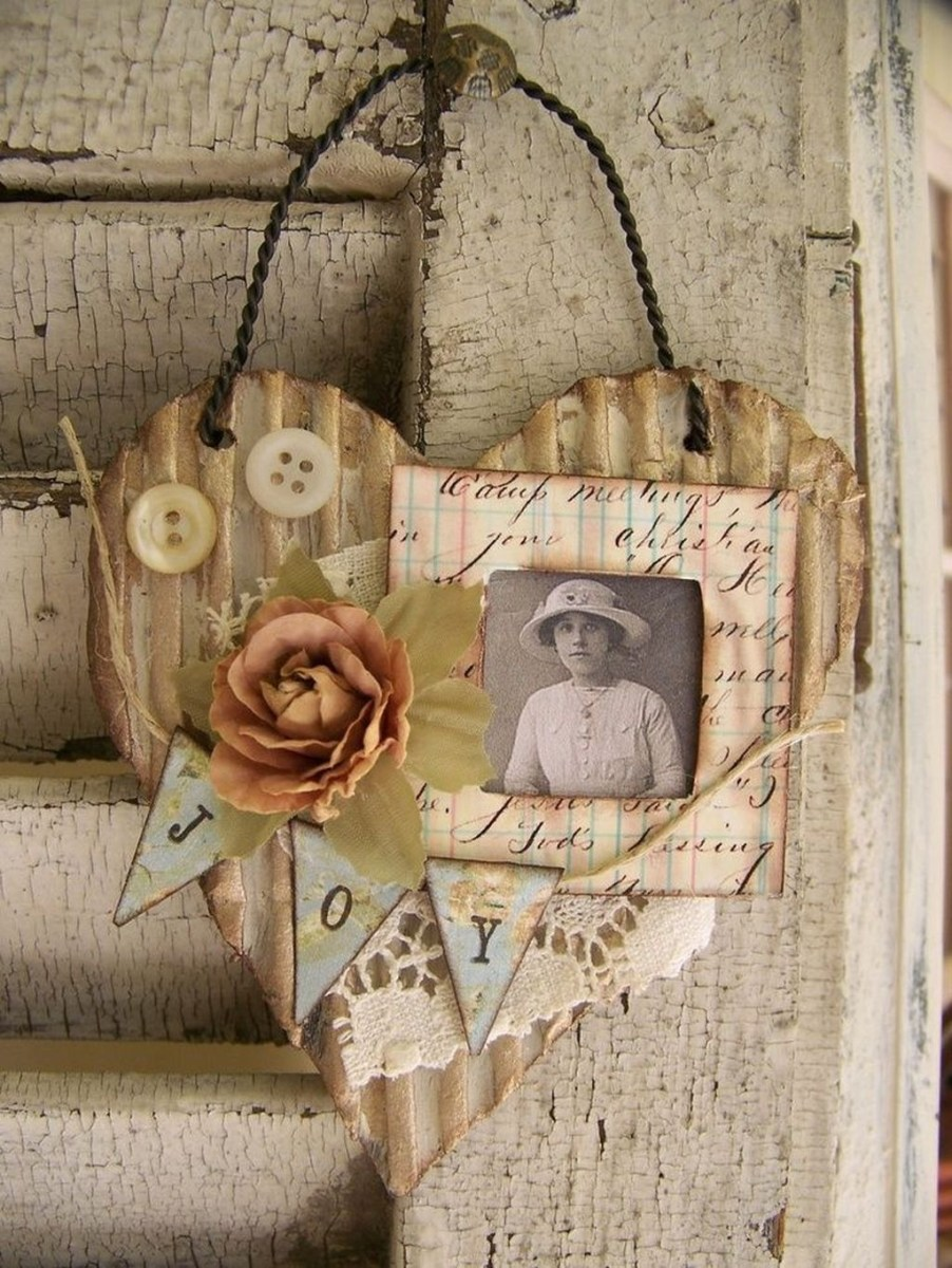 Cute Shabby Chic Valentines Decoration Ideas For Your Home 24