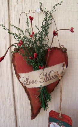 Cute Shabby Chic Valentines Decoration Ideas For Your Home 25