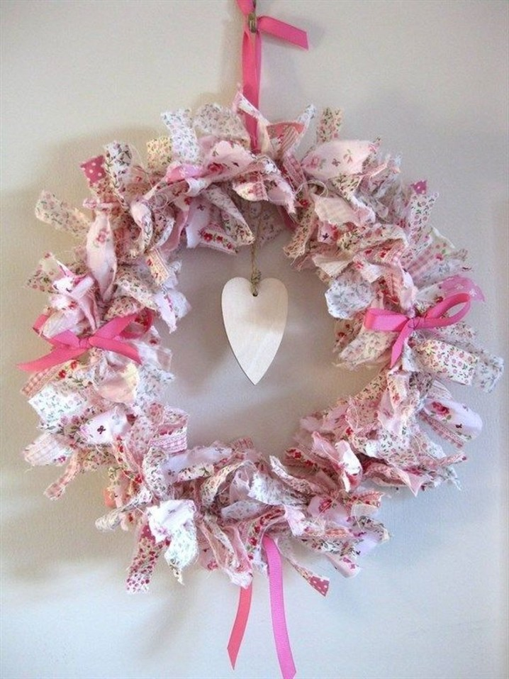 Cute Shabby Chic Valentines Decoration Ideas For Your Home 27