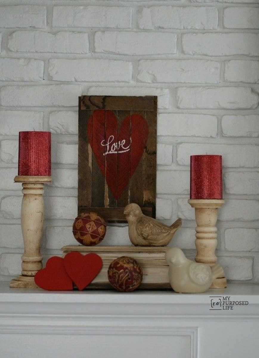 Easy Valentines Decoration Ideas You Should Try For Your Home 16