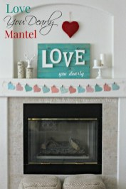 Inspiring Valentines Day Fireplace Decoration Ideas 20