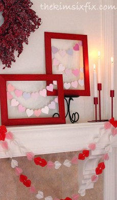 Inspiring Valentines Day Fireplace Decoration Ideas 24