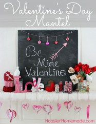 Inspiring Valentines Day Fireplace Decoration Ideas 39
