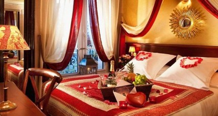 Romantic Valentines Bedroom Decoration Ideas 14