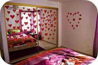 Romantic Valentines Bedroom Decoration Ideas 41