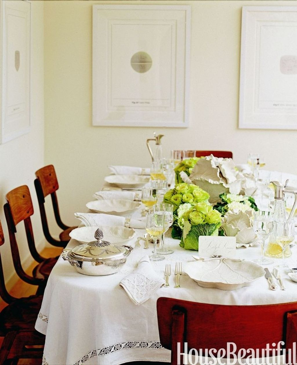 Romantic Valentines Day Dining Room Decoration Ideas 02