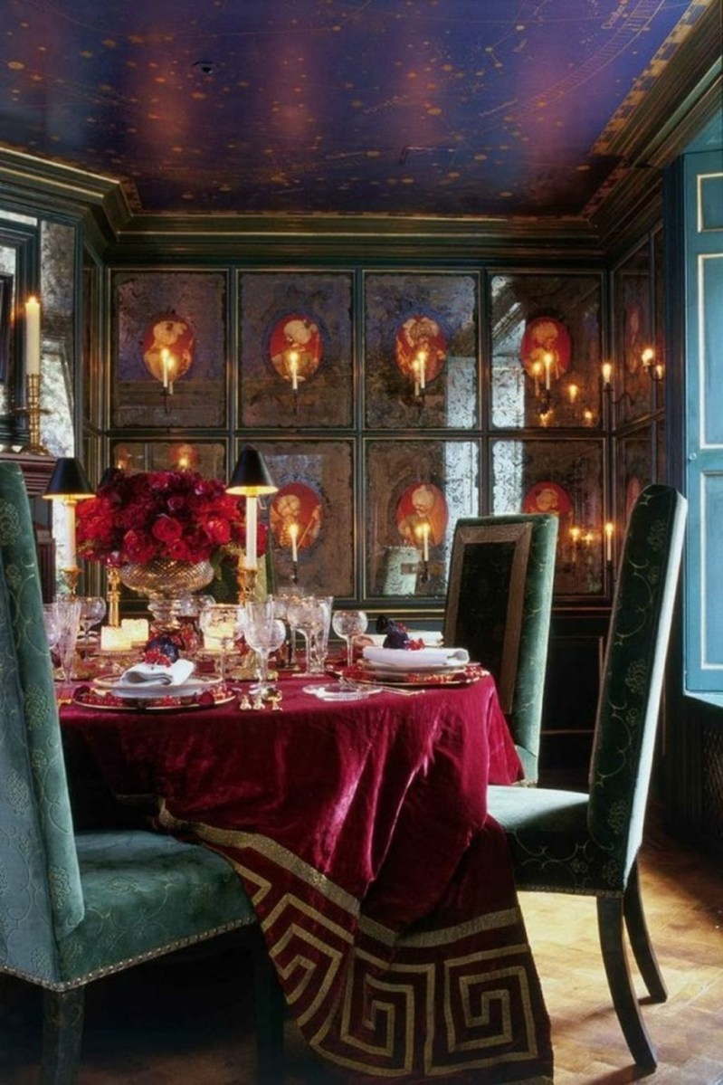 Romantic Valentines Day Dining Room Decoration Ideas 13