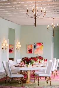 Romantic Valentines Day Dining Room Decoration Ideas 16
