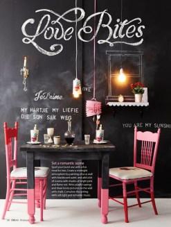 Romantic Valentines Day Dining Room Decoration Ideas 17