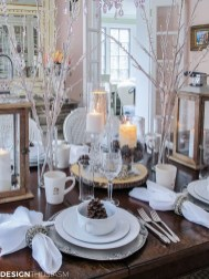 Romantic Valentines Day Dining Room Decoration Ideas 24