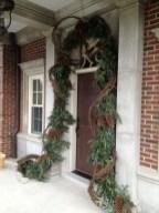Stunning Front Door Decoration Ideas For Winter 28