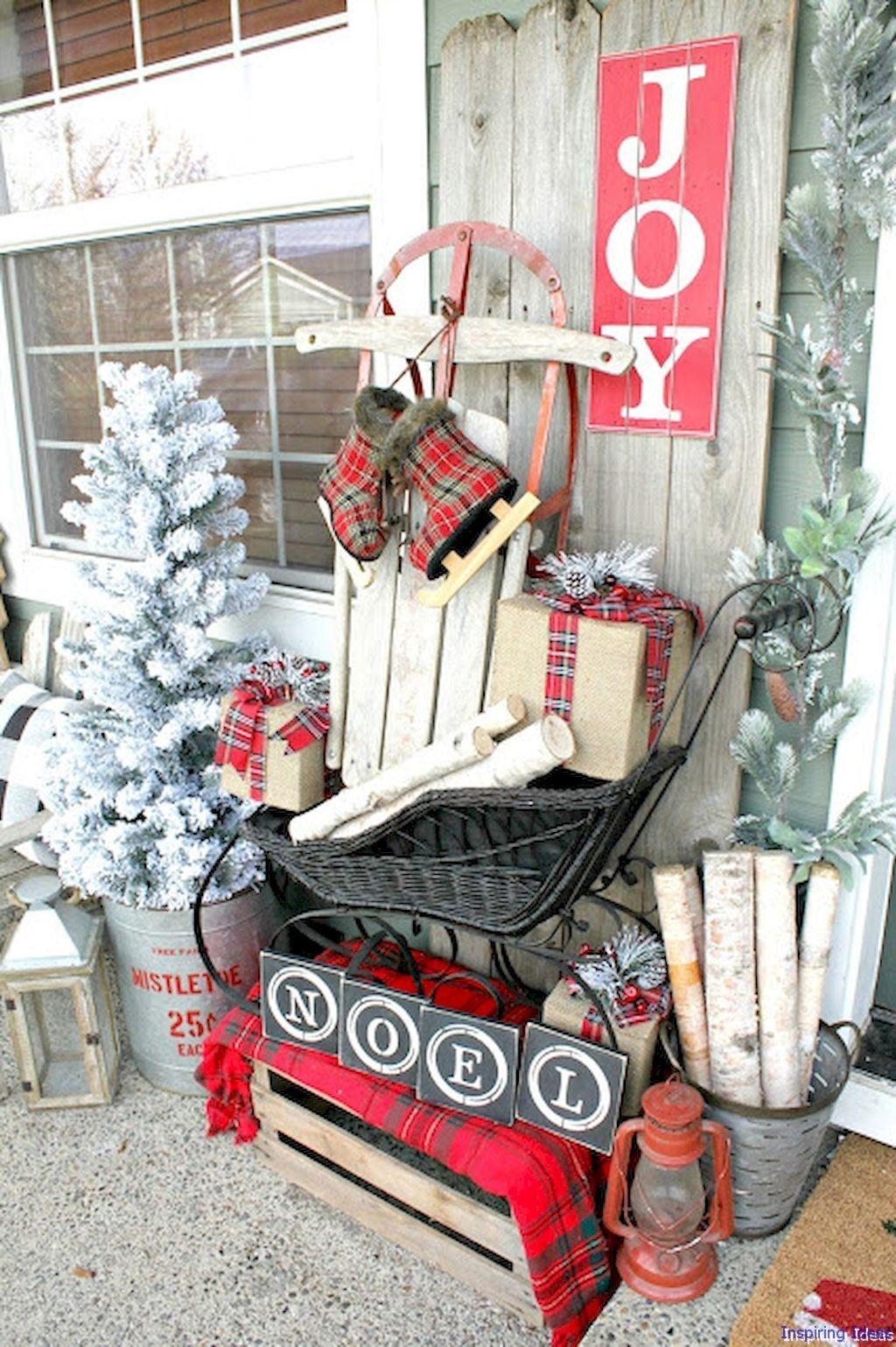 Totally Adorable Winter Porch Decoration Ideas 28