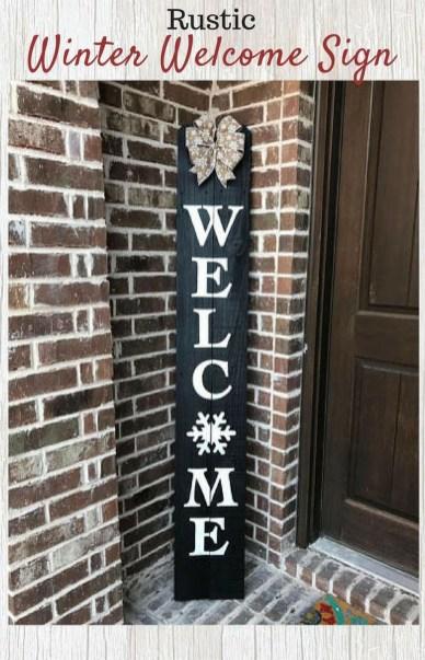 Totally Adorable Winter Porch Decoration Ideas 40