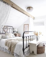 Amazing Farmhouse Style Master Bedroom Ideas 33
