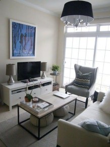 Awesome Small Living Room Decoration Ideas On A Budget 27