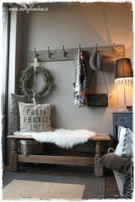 Beautiful Rustic Entryway Decoration Ideas 01