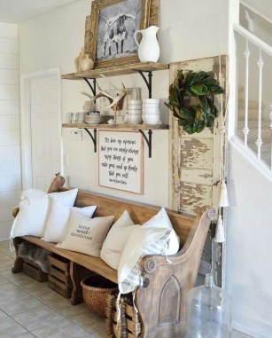 Beautiful Rustic Entryway Decoration Ideas 07