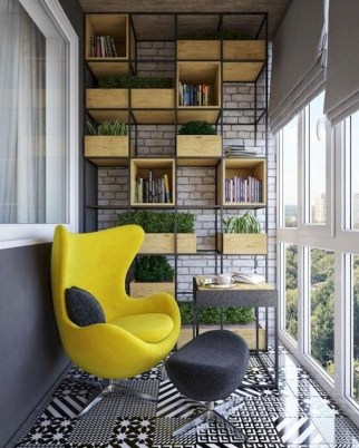 Cozy Apartment Balcony Decoration Ideas 34