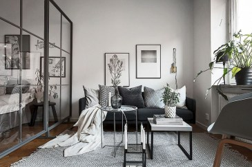 Cozy Apartment Studio Decoration Ideas 32