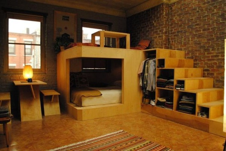 Cozy Apartment Studio Decoration Ideas 46
