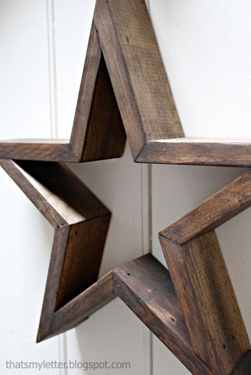 Creative Diy Wooden Home Decorations Ideas 20