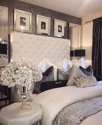 Elegant Small Master Bedroom Decoration Ideas 13
