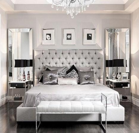 Elegant Small Master Bedroom Decoration Ideas 28