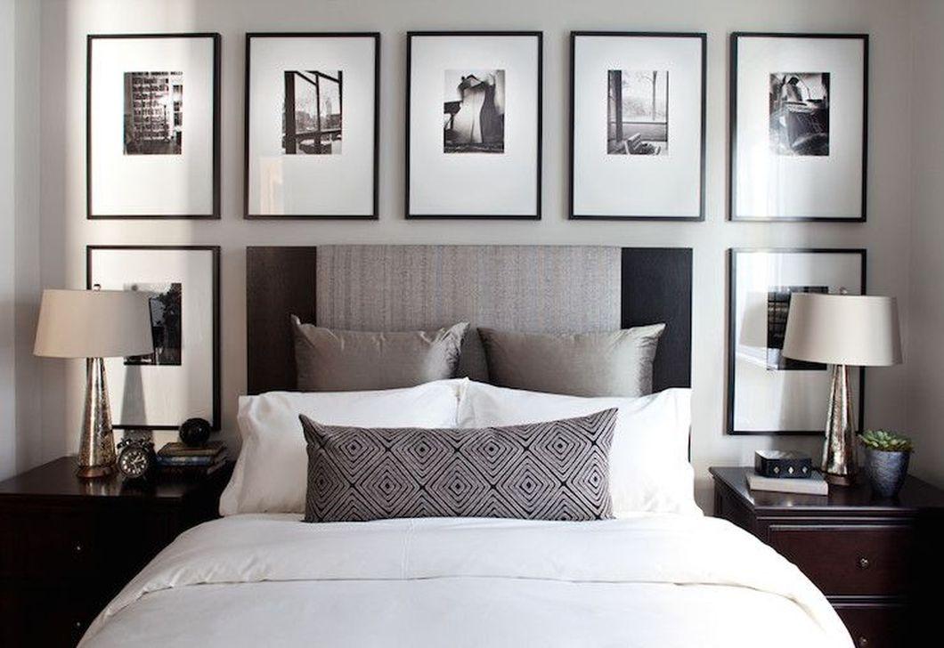 Elegant Small Master Bedroom Decoration Ideas 39