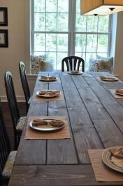 Inspiring Rustic Farmhouse Dining Room Design Ideas 05