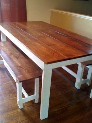 Inspiring Rustic Farmhouse Dining Room Design Ideas 07