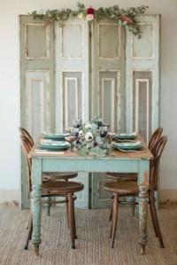Inspiring Rustic Farmhouse Dining Room Design Ideas 09