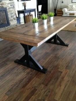 Inspiring Rustic Farmhouse Dining Room Design Ideas 38