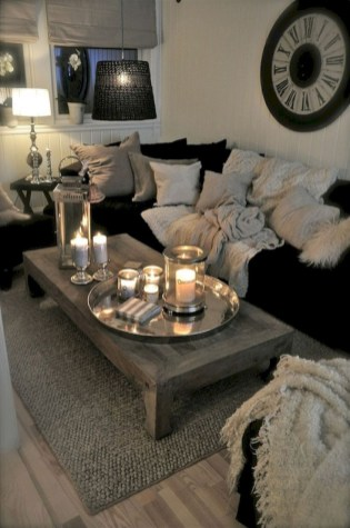Romantic First Couple Apartment Decoration Ideas 37