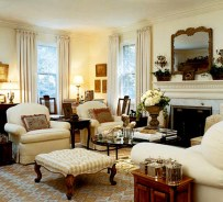 Warm And Cozy Classic Winter Home Decoration Ideas 13