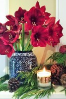 Warm And Cozy Classic Winter Home Decoration Ideas 40