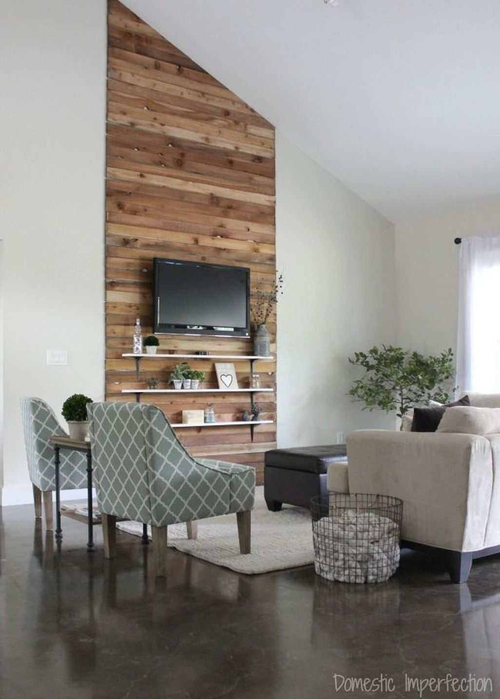 Amazing Rustic Farmhouse Living Room Decoration Ideas 07