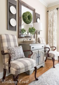 Amazing Rustic Farmhouse Living Room Decoration Ideas 21