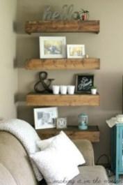 Amazing Rustic Farmhouse Living Room Decoration Ideas 38
