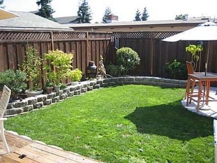 Awesome Small Backyard Patio Design Ideas 11