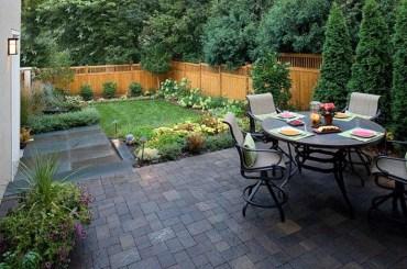 Awesome Small Backyard Patio Design Ideas 21