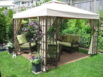 Awesome Small Backyard Patio Design Ideas 41