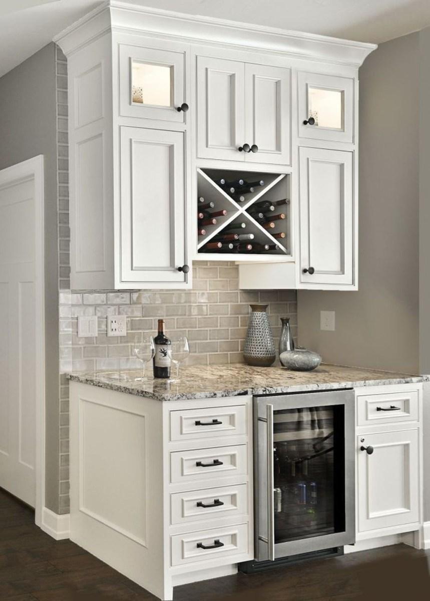 Awesome White Kitchen Backsplash Design Ideas 22