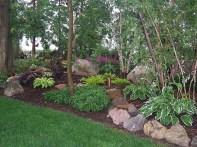 Beautiful Front Yard Rock Garden Design Ideas 07