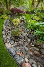 Beautiful Front Yard Rock Garden Design Ideas 15