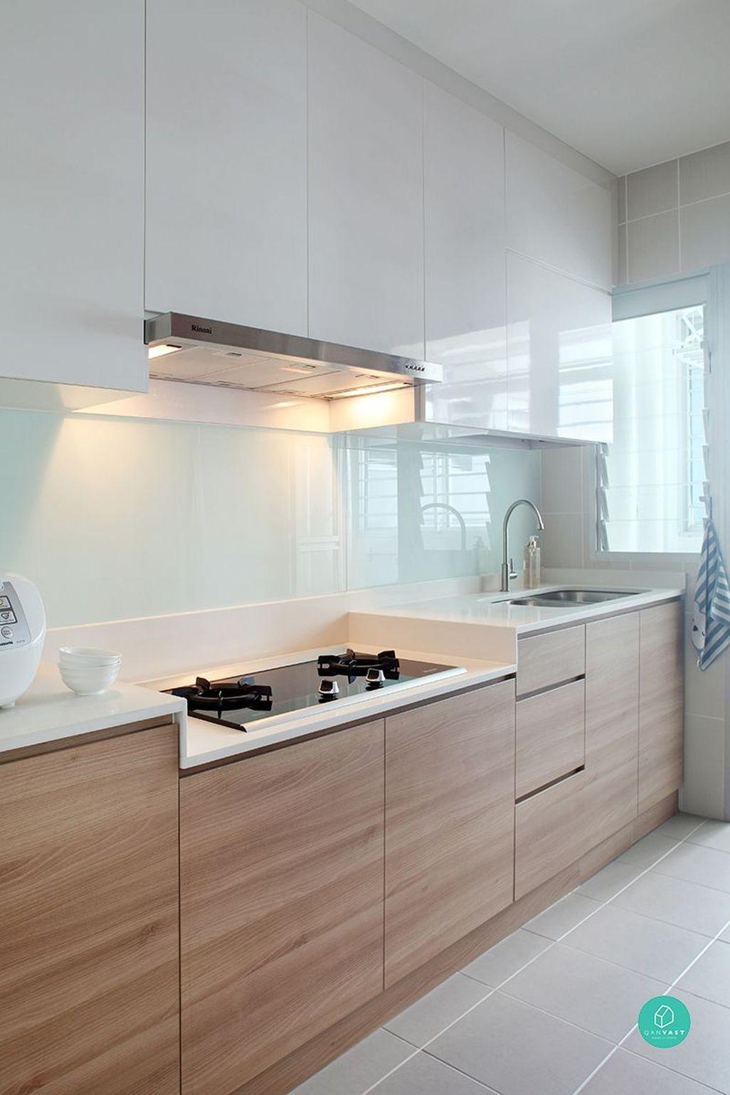 Best White Kitchen Cabinet Design Ideas 02