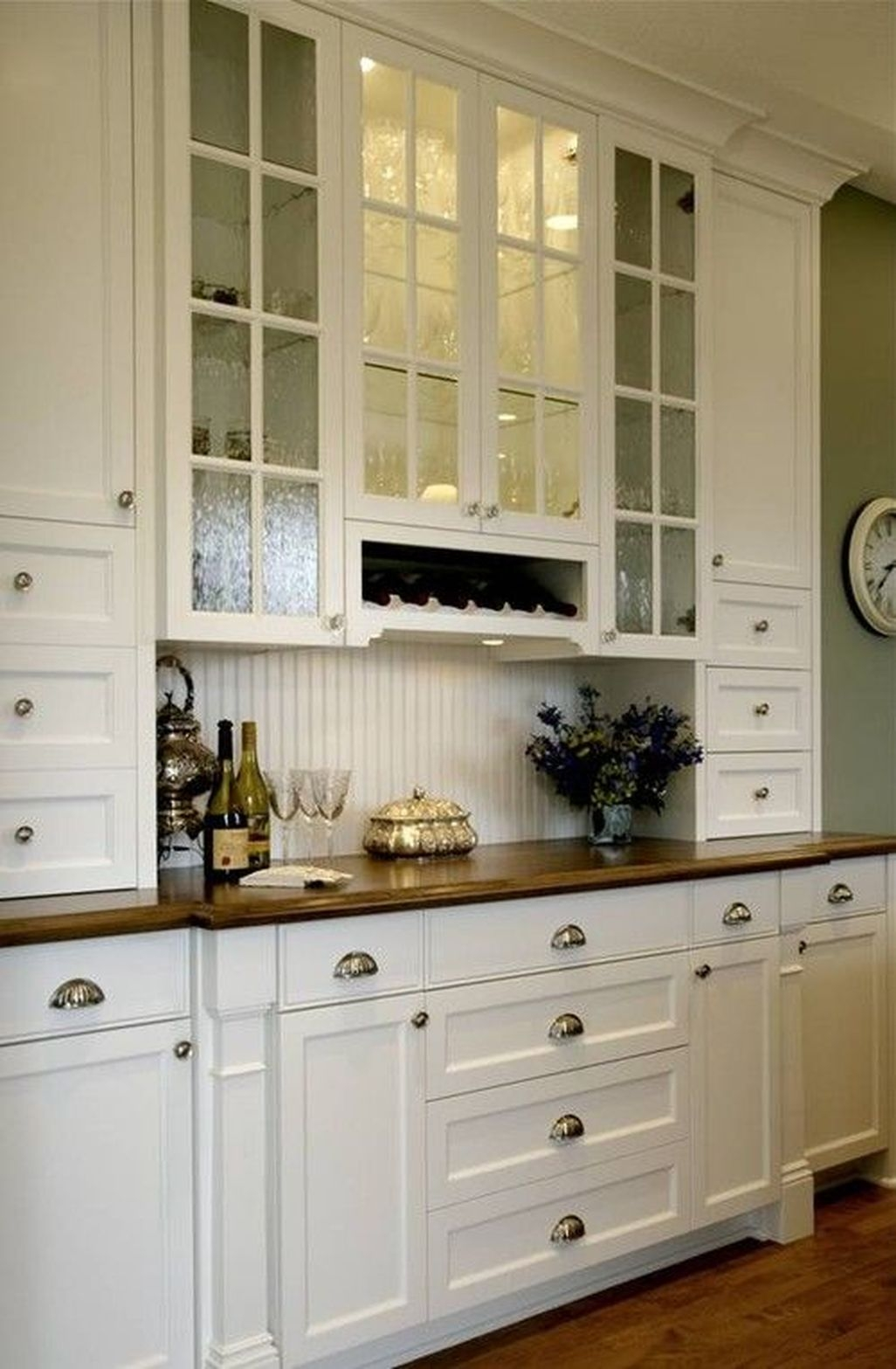 Best White Kitchen Cabinet Design Ideas 03