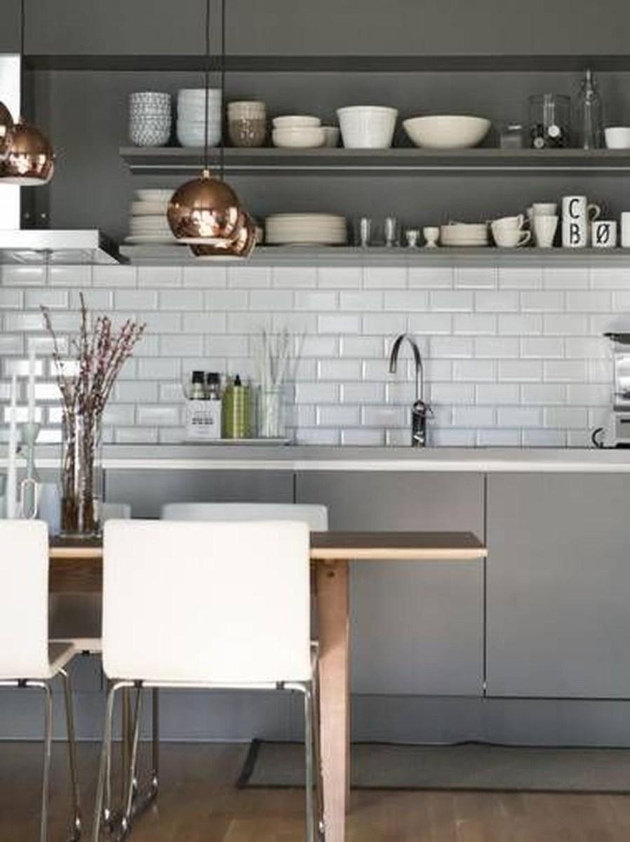 Best White Kitchen Cabinet Design Ideas 18